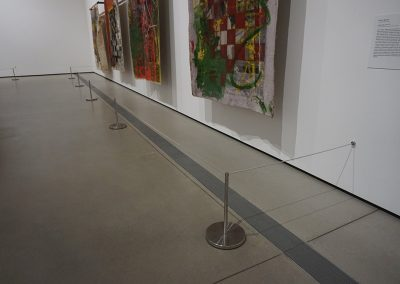 The Broad - Art Stanchion